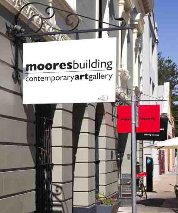 Photograph of the Moores Building