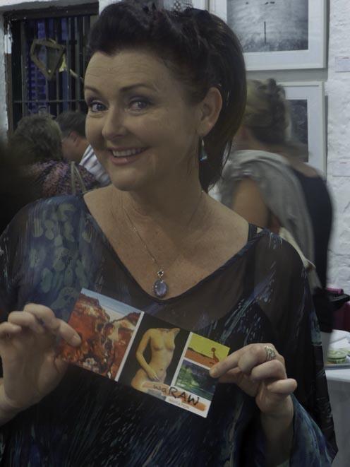 A photograph of Fiona Mariah, soprano