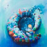 A painting called Ammonite #7
